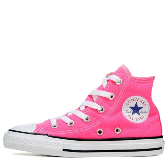 8fc24de973af Converse Other - Converse All Star Bubblegum Pink High Top Sneakers